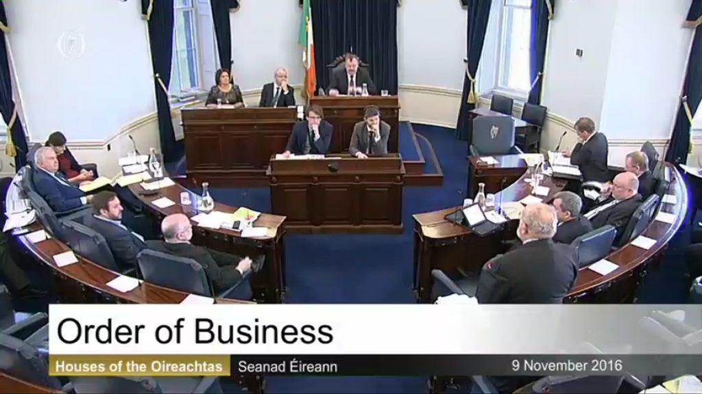 Order of Business - 9th November 2016