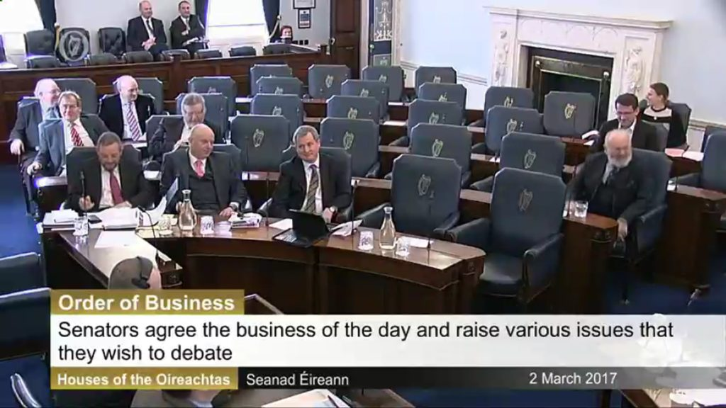 Order of Business – 2nd March 2017
