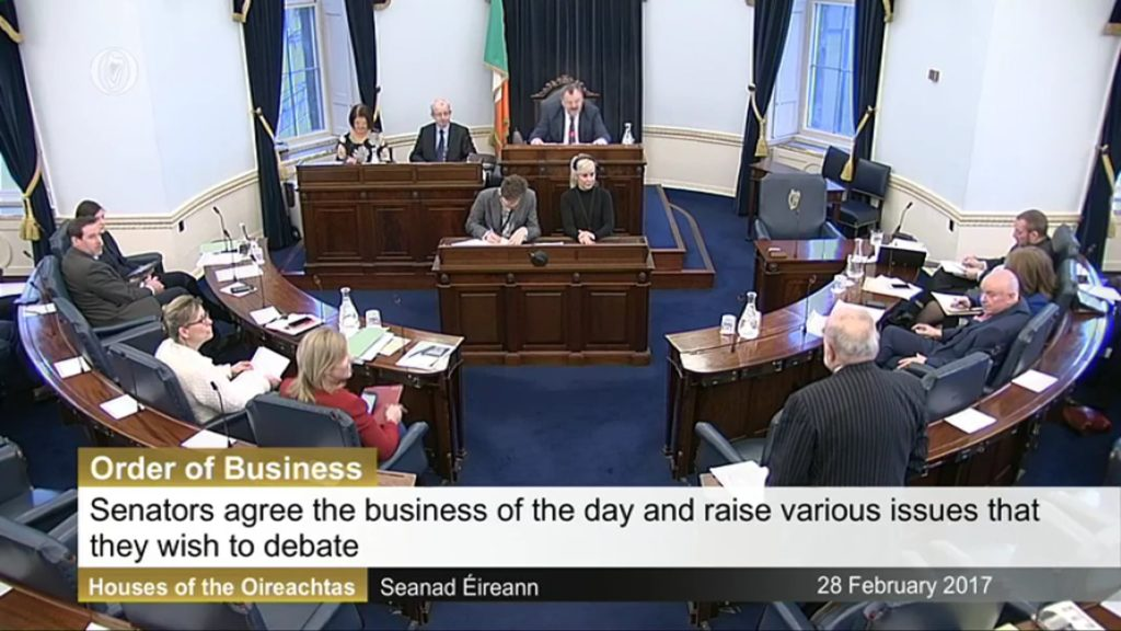 28th February 2017 – Order of Business