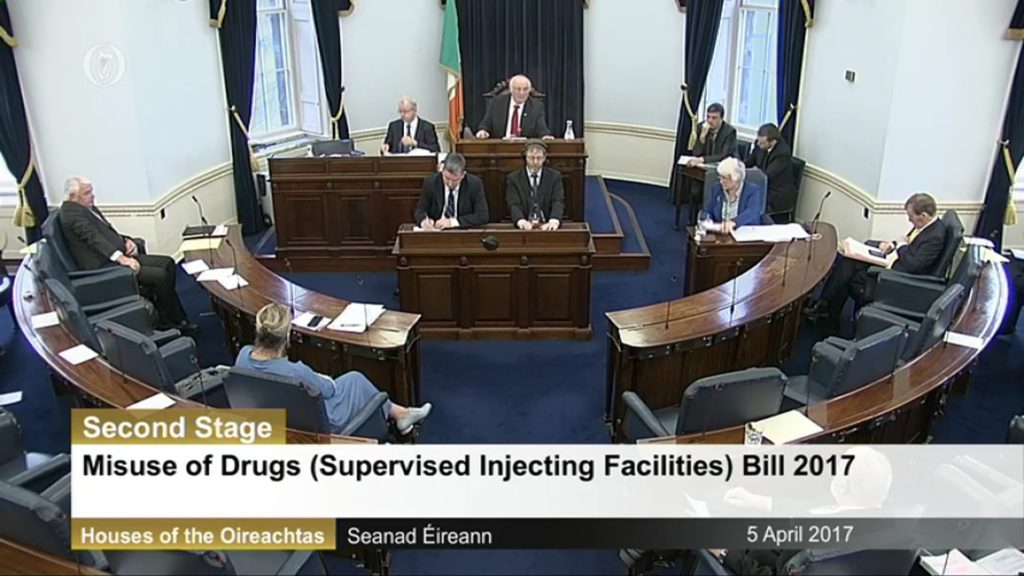 5 th April 2017 – Misuse of Drugs (Supervised Injecting Facilities) Bill 2017. Second Stage Debate