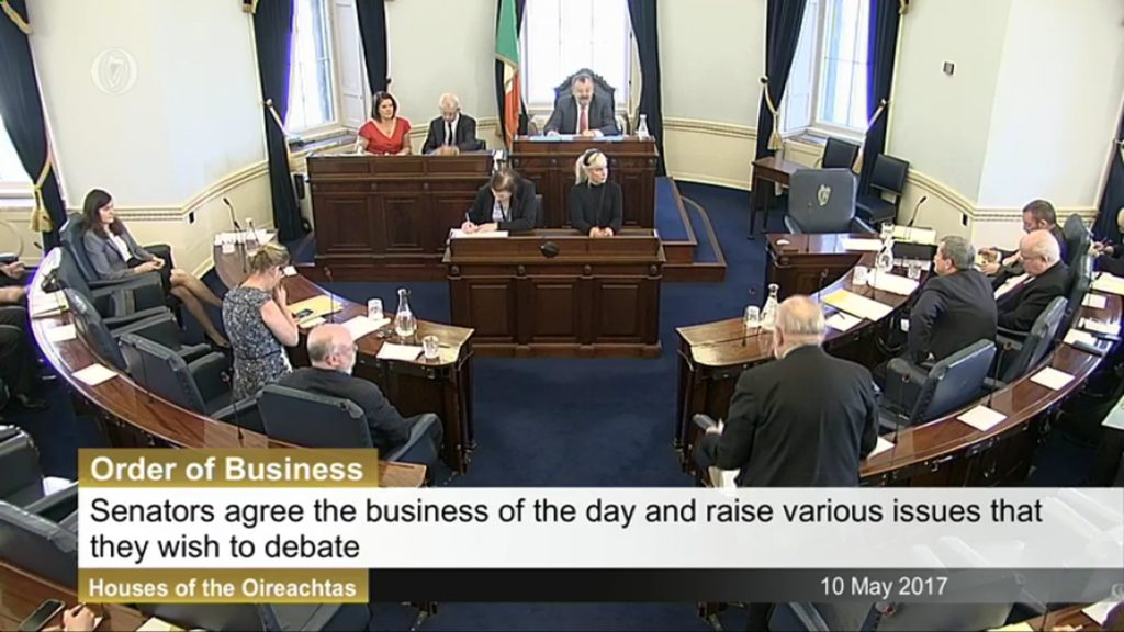 10th May 2017 – Order of Business