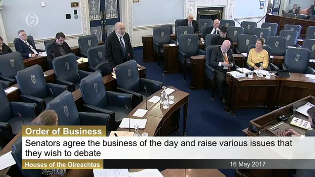 16th May 2017 – Order of Business