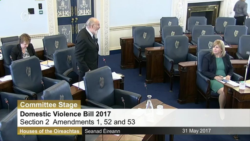 31st May 2017 – Domestic Violence Bill 2017. Committee Stage (2)