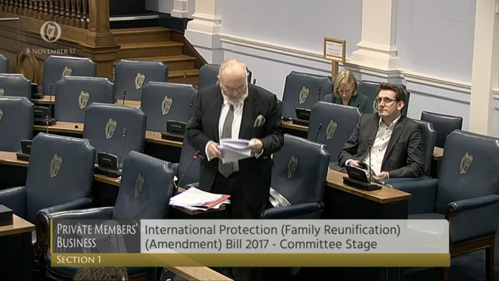 International Protection (Family Reunification) Bill 2017 (1)