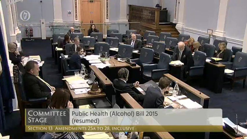 Public Health (Alcohol) Bill 2017 - Committee Stage Discussion (5)