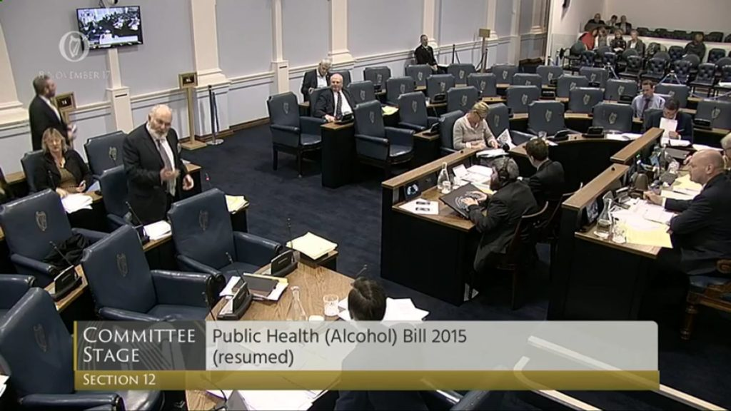 Public Health (Alcohol) Bill 2017 - Committee Stage Discussion (4)