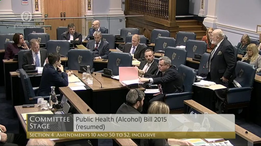 Public Health (Alcohol) Bill 2017 - Committee Stage Discussion (1)