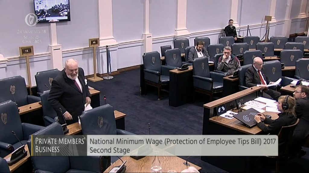 National Minimum Wage (Protection of Employee Tips) Bill 2017