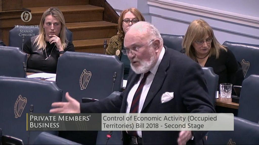 Control of Economic Activity (Occupied Territory) Bill 2018