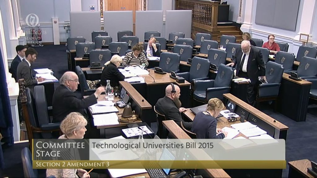 Technological Universities Bill 2015: Committee Stage