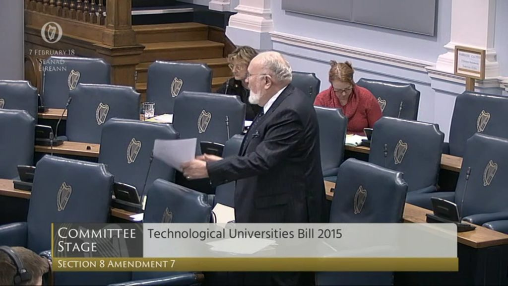 Technological Universities Bill 2015: Committee Stage (2)