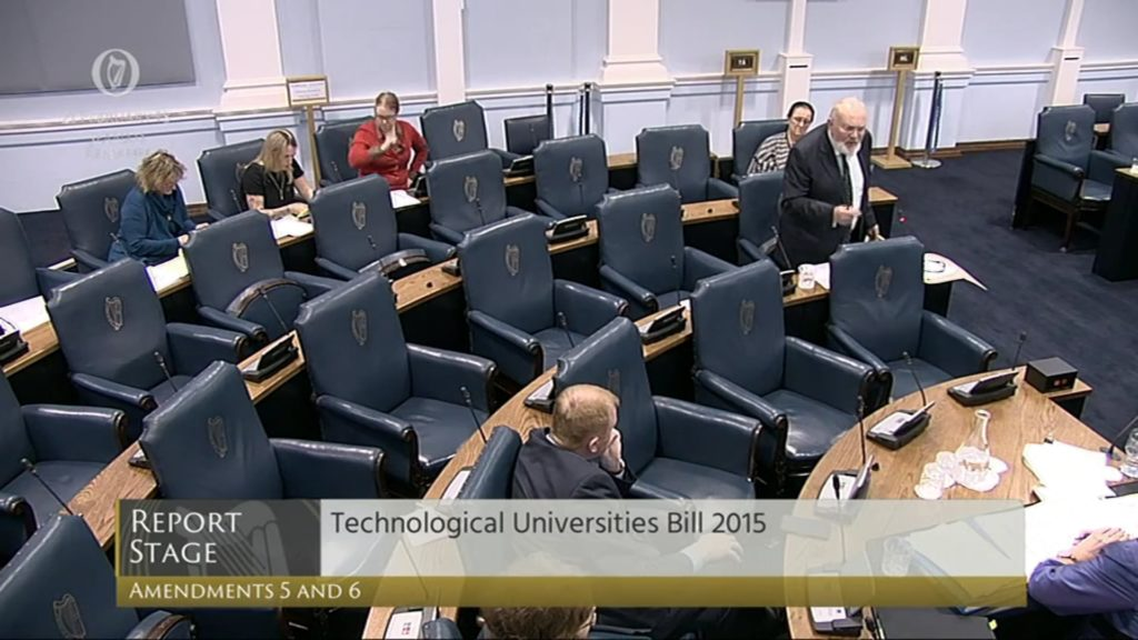Technological Universities Bill 2015: Report Stage