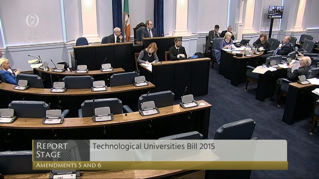 Technological Universities Bill 2015: Report Stage (2)